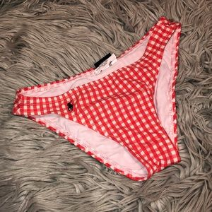 Vtg 90s Gingham Ralph Lauren swim bikini bottom 4